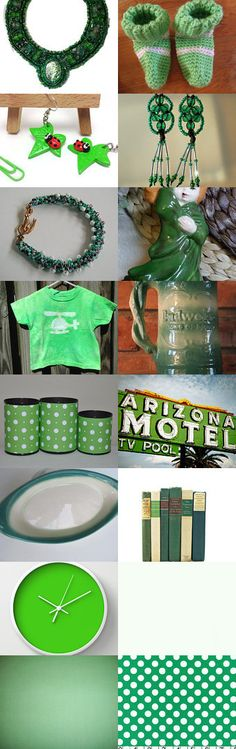 Green (and white)  #greengiftguide