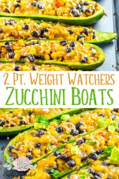 Weight Watchers Zucchini Boats Recipe | Weight Watchers Freestyle Recipe, Zucchini Boat, Weight Watchers Meals, Weight Watchers Dinners | #weightwatchers #wwfreestyle #zucchini