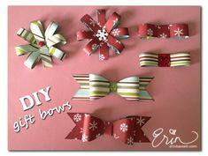 DIY gift bows #GiftsByBSK