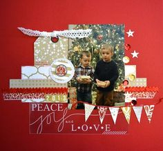 TERESA COLLINS DESIGN TEAM: Tinsel & Company Overlay by Christie Bryant