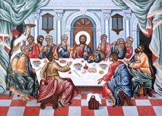 Adamantia Karatza  . Last Supper