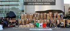 Siguen las expresiones en el extranjero por Ayotzinapa... No dejes de compartir. La lucha social se fortalece cuando sabemos que somos más y ahora lo somos. #Barcelona con Ayotzinapa- http://www.pixable.com/share/5WPHD/?tracksrc=SHPNAND2&utm_medium=viral&utm_source=pinterest
