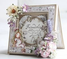Friendship is the poetry of life - Scrapbook.com