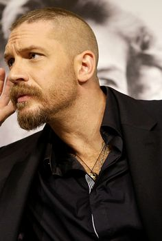 """""""Tom Hardy at the Mad Max: Fury Road press conference at the 68th Annual Cannes Film Festival """""""