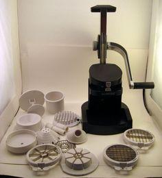 Le Presse Gourmet Food Processor Styler Slicer Fry Cutter Press Style Mandolin #LePresse