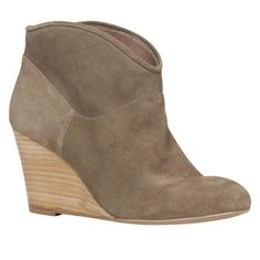 Just bought these! Women's wedge booties at Aldo. Excited to finally have a tall boyfriend that I can break out wedges!