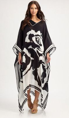 EMILIO PUCCI | i would so prance around the house in this caftan | LOVE it!!!