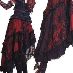 The Doctor Red Taffeta Fabric
