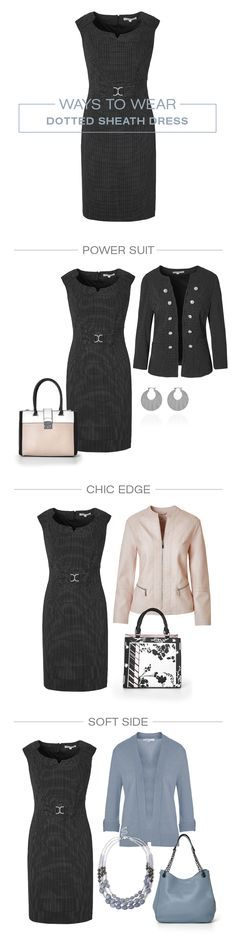 Fabulous layering is the key to wearing dresses in the winter. Wearing Dresses, Sheath Dress, Layering, Key, Winter, How To Wear, Style, Fashion, Winter Time
