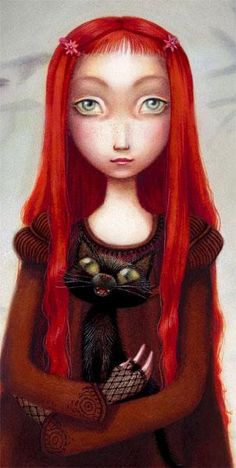 Illustration (detail) from Genealogy of a Witch by Benjamin Lacombe