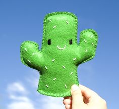 Felt Cactus Plush, pincushion idea