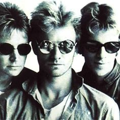 The Police  Sting, Stewart Copeland, and Andy Summers