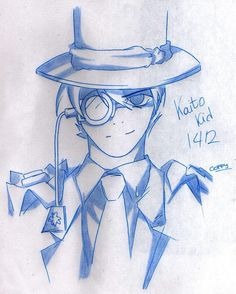 Kaito Kid by Ticci-Coffy on DeviantArt