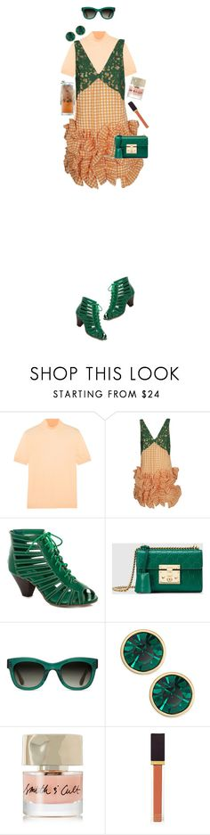 """Peach Mojito"" by rachael-aislynn ❤ liked on Polyvore featuring Jil Sander, MSGM, Lady Godiva, Gucci, TOMS, Kate Spade, Smith & Cult and Tom Ford"