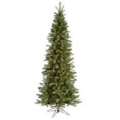 7.5' Vickerman A114076 Albany Spruce - Green Christmas Tree