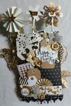 New Years Loaded Envelope ***BACK*** - Scrapbook.com