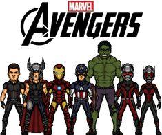 Founding Avengers by KingCozy7 on DeviantArt