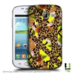 Head Case Designs Tropical Leopard Trend Mix Back Case for Samsung Galaxy Trend II Duos S7572