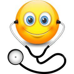 Illustration about Cute smiling doctor emoticon wearing stethoscope, emoji - smiley. Illustration of healthcare, head, emoji - 96990781 Animated Emoticons, Funny Emoticons, Love Is Cartoon, Cute Cartoon Drawings, Funny Emoji Faces, Cute Emoji, Smileys, Doctor Emoji, Stickers Emojis