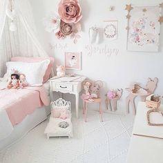 chambre petite fille rose et gris | Maison | Pinterest | Chambre ...
