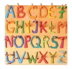 Wooden Alphabet Letters <3
