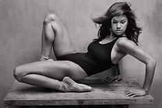 Misty Copeland. First black solo dancer at American Ballet Theatre.