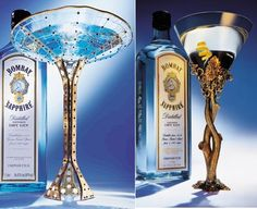 Breathtaking cocktail glasses!