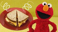 Elmo's ABC Sandwich