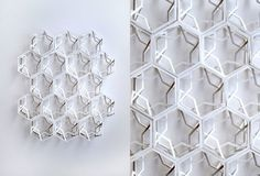 Paper engineer Matt Shlian produced his latest series of paper pieces replete with intricate geometric patterns Shape Patterns, Textures Patterns, Geometric Patterns, Origami Paper Art, Paper Crafts, Jewel Images, Geometric Sculpture, Contemporary Artwork, Textiles