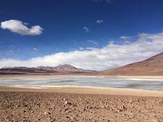 Laguna verde - Reserva nacional de fauna andina Eduardo Avaroa