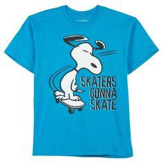 Peanuts Childrens Tee LOGOSHIRT Snoopy Target Kids T-Shirt Beagle blue