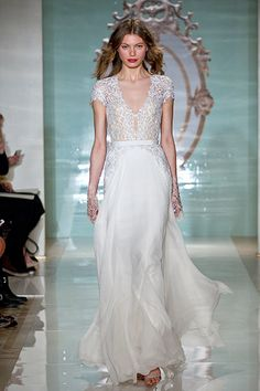 Gown by Reem Acra.Check out more gorgeous dresses in our Reem Acra gown gallery ►Photo courtesy of designer
