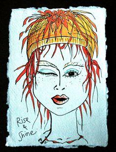 Wild Beauty Art Studio by WildBeautyStudio Becoming Human, India Ink, Simple Flowers, Quick Sketch, Beauty Art, Art World, Original Art, Studio, Drawings