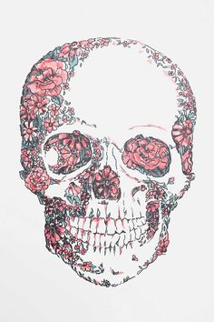 Skull Wall Decal Floral Skull Wall DecalFloral (disambiguation) To be floral is to pertain to flowers. Floral may also refer to: Batman Wallpaper, Pink Skull Wallpaper, Flower Phone Wallpaper, Diy Collage, Tattoos Geometric, Floral Skull, Art Floral, Vintage Floral, Skull And Bones