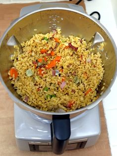 Fried Rice, Bacon, Cooking, Ethnic Recipes, Food, Compact Kitchen, Rice, Dish, Thermomix