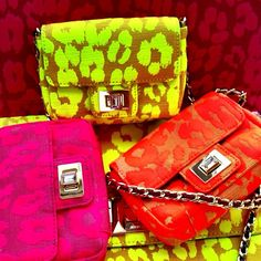 Neon Juicy Couture Clutches ☻                                                                                                                                                                  ⇜•ṄεΦЙ❉€яᗛƶΣ•⇝