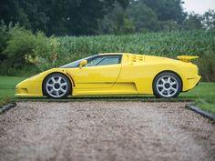 The Best Of 90s Bugatti Is This Ultra-Rare 1995 Bugatti EB110 SS