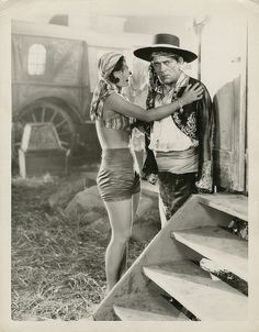 lon chaney unknown | Lon Chaney Sr. and Joan Crawford oversized photograph from The Unknown ...