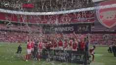 Arsenal Ladies celebrate winning the Women's FA Cup. See more from their on-pitch celebrations: https://www.youtube.com/watch?v=t7kT8YXm-UI