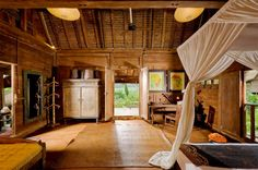 Traditional Bambu Indah Resort In Bali