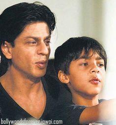 Shah Rukh and Aryan Khan
