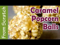 it's easy to make caramel popcorn or caramel popcorn balls with this delicious and buttery recipe! Come get the recipe and watch the full video tutorial! Popcorn Recipes, Candy Recipes, Fall Recipes, Holiday Recipes, Snack Recipes, Cooking Recipes, Snacks, Sweet Popcorn, Popcorn Balls