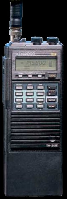Kenwood TH-215E Synthesized Two Meter FM Portable HT Amateur Radio Transceiver.