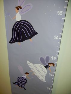 Hand Painted Children's Growth Chart,