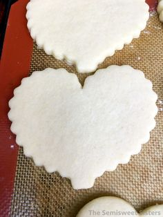 Quick No Chill Cut Out Sugar Cookies
