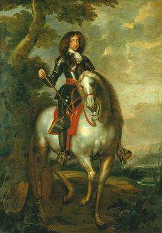 International Portrait Gallery: Retrato ecuestre del Rey Christian V de Dinamarca