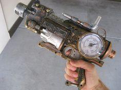 Steampunk Gun  The Hellkite by Steampunk101 on Etsy, $75.00