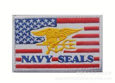Us Navy Logo, Cheap Patches, Hat Embroidery, Tactical Patches, Clothing Patches, Navy Seals, Usa Flag, American Flag, Badge