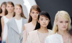 London fashion week beauty - Topshop Unique