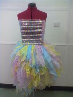 my plastic bag dress